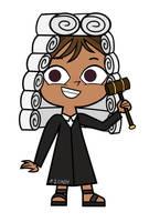 Total DramaRama Courtney-Judge Costume by cindywuzheer