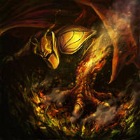 Dragon Knight by FuryOn1989