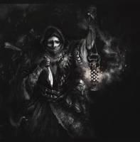 Darkest Dungeon. Antiquarian by FuryOn1989