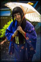 Golden Umbrella by Weatherstone