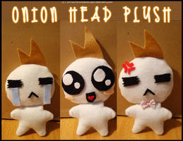 Onion Head Plushie by KyuTeeKay