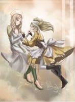 Em and Lissa - Eternal Bonds Artbook by Velurie