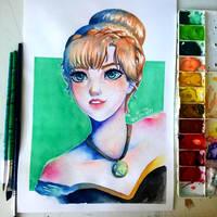 Anna by ilustrajay