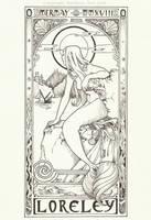 MerMay #13 - Mucha by Ejderha-Arts