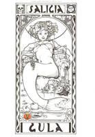 MerMay #20 - Saligia V: Gula by Ejderha-Arts