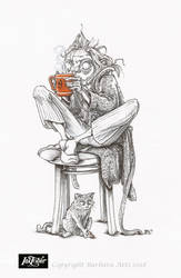 Inktober 2018 #9 - Precious by Ejderha-Arts