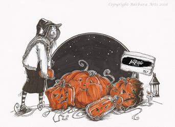 Inktober 2018 #15-19 by Ejderha-Arts