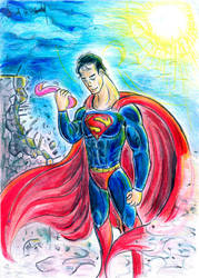 Man Of Steel by luciano6254