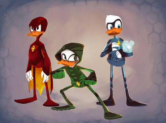 Super Quack Pack by Andry-Shango