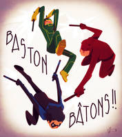 Bastons by Andry-Shango