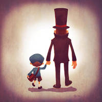 Family of Gentlemen by Andry-Shango