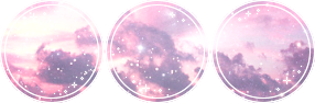 pastel space   aesthetic divider by nilakuki