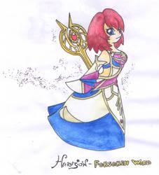 A new priestess by Haru-Fabre