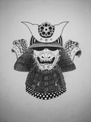 Samurai Mask by UliDK
