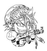 Chibi Hiruma by Just-A-Michael
