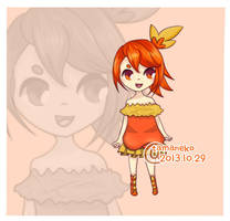 // Adoptable 005 - Gijinka Torchic // open by tamaneko-i-b