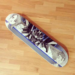Mecha Skateboard by Metajake