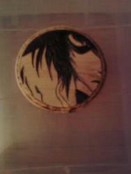 L face coaster by cutiechibi