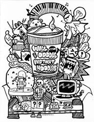 Will Doodle for Instant Noodles~ by scorpionkiss