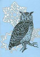 Card: Owl by Moorstream