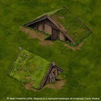 Magicka huts by Moorstream