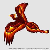 Magicka phoenix by Moorstream