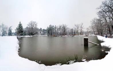 Frozen lake by snupi2001