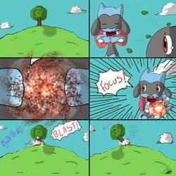 Miku's Focus Blast by Popokino
