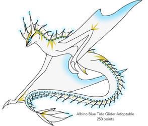 Albino Blue Tide Glider Adoptable (OPEN) by XxSynisterxX