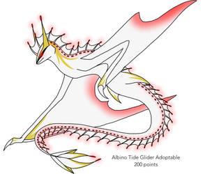 Albino Tide Glider adoptable (CLOSED) by XxSynisterxX