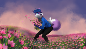 Commission for PurpleFoxKinz by Pixezure