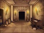 Commission: VN Background - Tomb by Jenova87