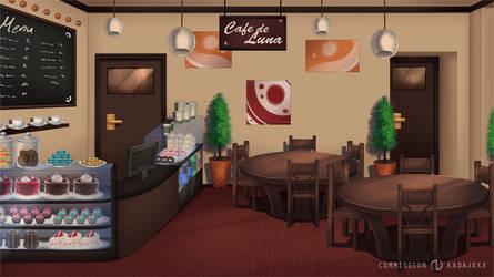 Commission BG: Cafe by Jenova87