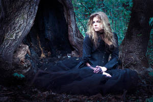 Queen Of A Wood Thicket II by ann-emerald
