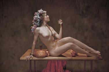 allegory of spring ... by JREKAS