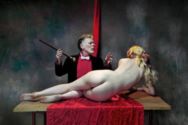 Magic Master and the enchanted beauty by JREKAS