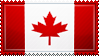 Canada Flag Stamp by ChokorettoMilku