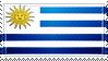 Uruguay Flag Stamp by ChokorettoMilku