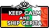 Keep Calm and Ship GerIta by ChokorettoMilku