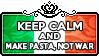 Keep Calm and Make Pasta Not War by ChokorettoMilku
