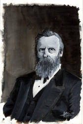 ghost of Rutherford B. Hayes by ajrjr13