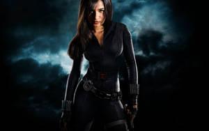 Black widow composite by Justinlite