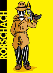 MS Paint Rorschach by Cactopus
