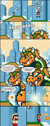 The Legend of Mario by Cactopus