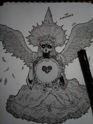 Blood witch by TeEstoyMirando