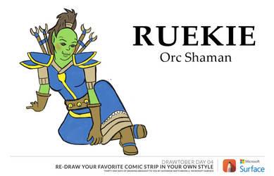Ruekie Shaman by RakaelTowers