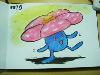 #045 Vileplume by Mky-Amako