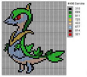 496 Servine by cdbvulpix