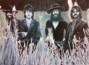 -The Beatles- by Agente00Minina