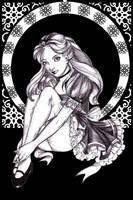 Black Art Nouveau: Alice by Isis-M